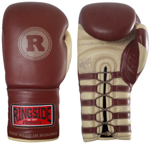 Ringside Boxing Heritage Pro Fight Gloves - Brown
