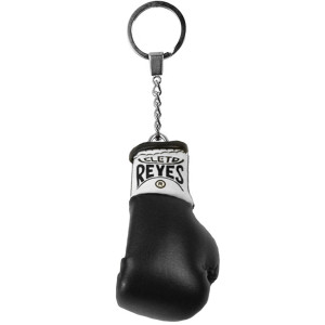 Cleto Reyes Miniature Boxing Glove Keychain - Black