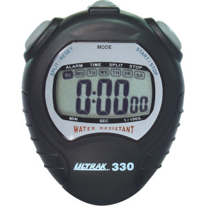 Ultrak 330 Jumbo Display Sport Stopwatch - Black