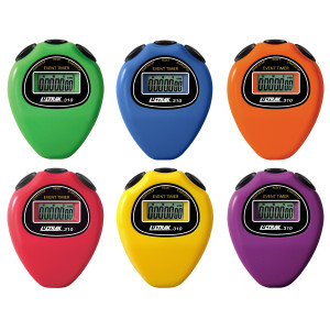 Ultrak 310 - Event Timer Sport Stopwatch - Set of 6