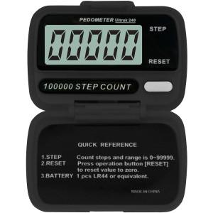 Ultrak 240 - Electronic Step Counter Pedometer - Black