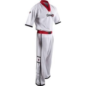 Hayabusa Winged Strike Karate Uniform - White - kimono taekwondo