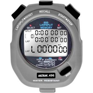 Ultrak 496 - 500 Lap Dual Split Memory Stopwatch