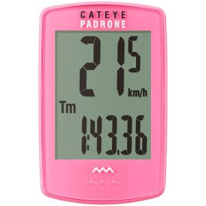 CatEye Padrone Wireless Cycling Computer - CC-PA100W - Pink