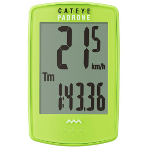 CatEye Padrone Wireless Cycle Computer - CC-PA100W - Green