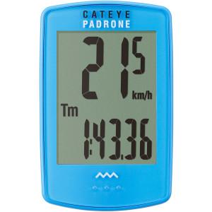 CatEye Padrone Wireless Cycling Computer - CC-PA100W - Blue