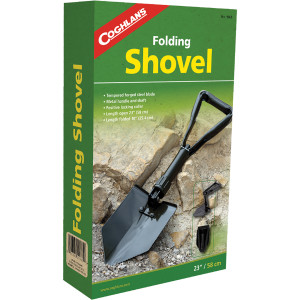 Coghlan's Folding Shovel, Tempered Forged Steel Blade for Digging, Camping Tool