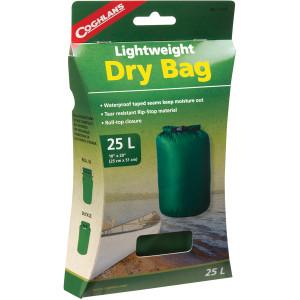 Coghlan's 25L Lightweight Dry Bag, Tear Resistant w/ Roll Top Closure 25 Liter