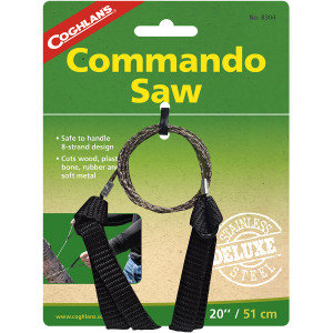 """Coghlan's Commando Saw, 20"""" Wire Cutting Surface, Cuts Wood and Other Material"""
