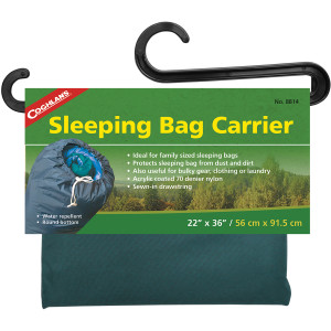 Coghlan's Sleeping Bag Carrier, Water Repellent, Useful for Clothing & Laundry