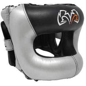 RIVAL Boxing RHGFS3 Guerrero Face-Saver Headgear - Silver