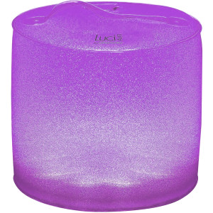 MPOWERD Luci Aura Color-Changing Frosted Glitter Finish Inflatable Solar Light