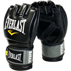Everlast Pro Style Grappling Gloves - Black