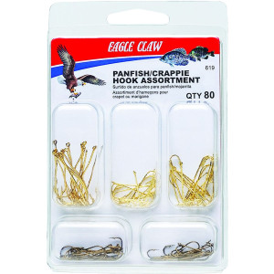 Eagle Claw Crappie/Bream Assorted Hooks Fishing Kit