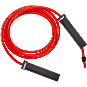 Lifeline USA Weighted Speed Jump Rope - Heavy 0.75 lbs - Red