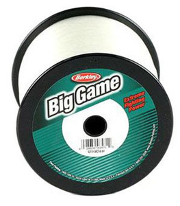 Berkley Trilene Big Game Clear Fishing Line Spool - 15 lb test, 900 yds