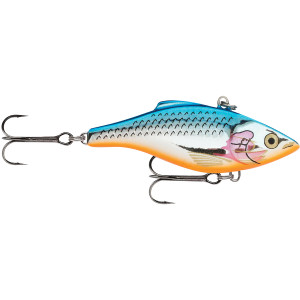 Rapala Rattlin' Rapala 05 Fishing Lure - Silver Blue