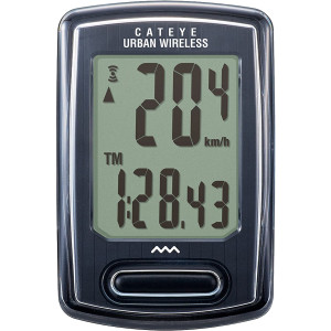 CatEye Urban Wireless Cycling Computer - CC-VT240W - Black