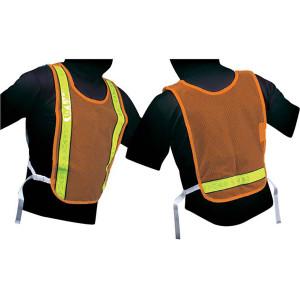 Jogalite Reflective Cross Training Vest - Orange/Lime