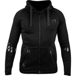 Venum Contender 3.0 Full Zip Hoodie - Black/Black