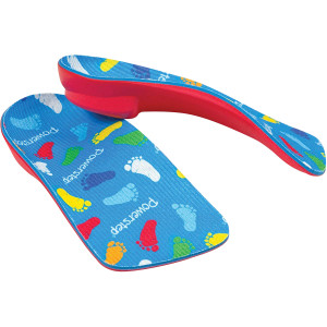 PowerStep PowerKids 3/4 Length Pediatric Orthotic Shoe Insoles
