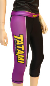Tatami Fightwear Ladies IBJJF Grappling Tights - Purple