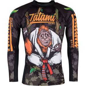 Tatami Fightwear Hang Loose Orangutang Long Sleeve BJJ Rashguard