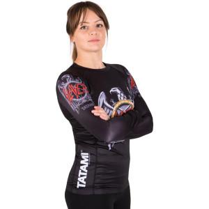 Tatami Fightwear Ladies Slayer Eagle Long Sleeve BJJ Rashguard
