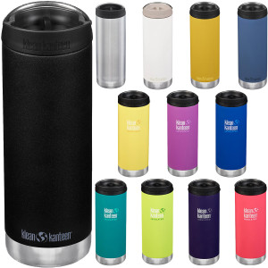 Klean Kanteen 16 oz. TKWide Insulated Stainless Steel Bottle with Cafe Cap