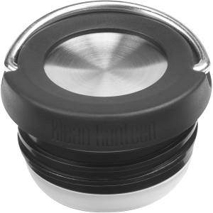 Klean Kanteen TKWide Insulated Wide Loop Cap - Black/Brushed Stainless