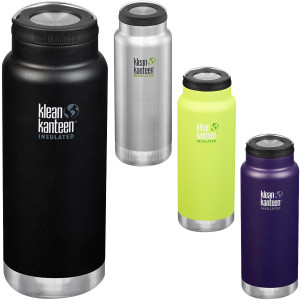 Klean Kanteen 32 oz. TKWide Insulated Stainless Steel Bottle with Wide Loop Cap