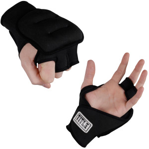 Title Weighted Gloves-3 lb pair