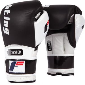 Boxing Power Sparring Gloves - Black/White