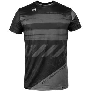 Venum AMRAP Dry Tech Short Sleeve T-Shirt - Black/Gray
