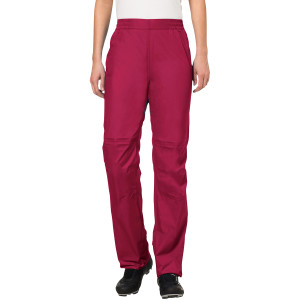 Vaude Women's Drop Biking Rain Pants II - Crimson Red