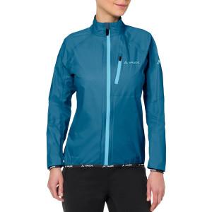 Vaude Women's Drop Biking Rain Jacket III - Kingfisher