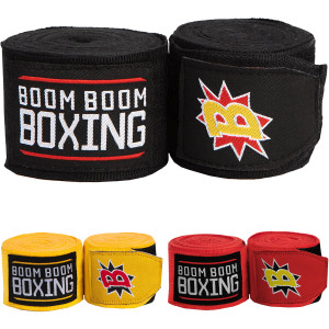 "Title Boxing Boom Boom 180"" Flex Boxing and MMA Handwraps"
