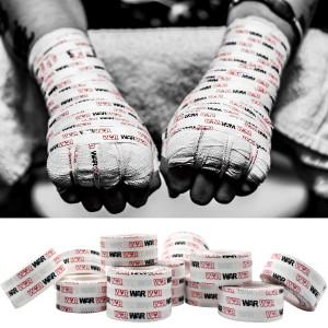WAR Tape EZ Rip Athletic Tape for Boxing, MMA, Muay Thai, Kickboxing, Crossfit