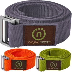 Lifeline USA Natural Fitness 8' Hemp Yoga Strap
