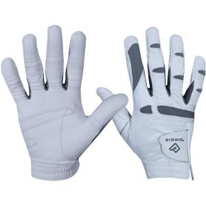 Bionic Men's Right Hand Performance Grip Pro Golf Glove - White