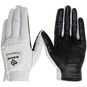 Bionic Men's Left Hand Relax Grip 2.0 Golf Glove - Black