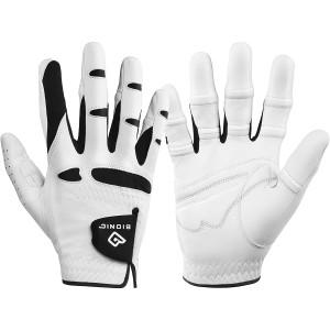 Bionic Men's StableGrip Natural Fit Right Hand Golf Glove - White/Black