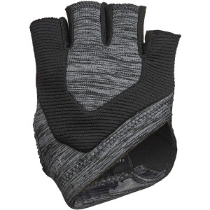 Harbinger Women's Palm Guard Weight Lifting Gloves - Black/Gray Heather