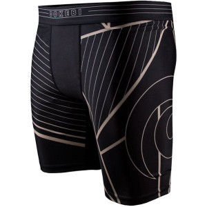 Dokebi Voltage BJJ Compression Shorts - Black