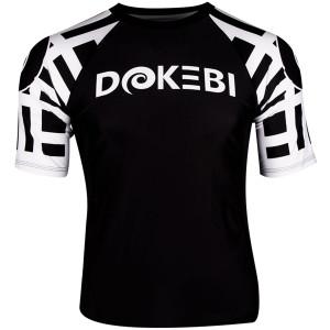 Dokebi Ghost Ranked Short Sleeve BJJ Rashguard - White