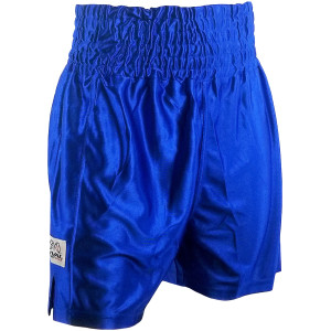 Rival Boxing Dazzle Traditional Cut Competition Boxing Trunks - Blue