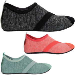 FitKicks Women's Live Well Collection Non-Slip Sole Active Footwear