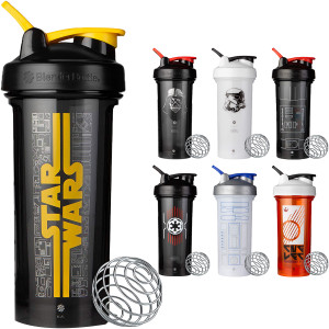 Blender Bottle Star Wars Pro Series 28 oz. Shaker Mixer Cup with Loop Top