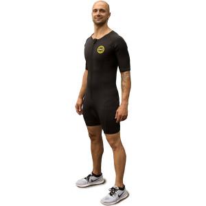 TNT Pro Series Men's Neoprene Sauna Suit - Yellow