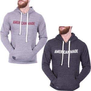 Grunt Style American Made Triblend Pullover Hoodie